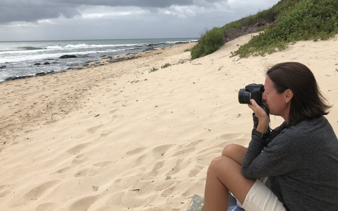 The Amateur Surf Photographer AKA Mom